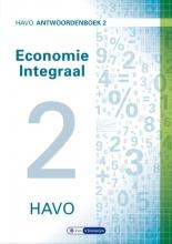 Theo Spierenburg Ton Bielderman  Herman Duijm  Gerrit Gorter  Gerda Leyendijk  Paul Scholte, Economie Integraal havo Antwoordenboek 2