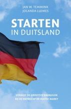Jan W.  Temmink, Jolanda  Luimes Starten in Duitsland