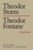 Radecke, Gabriele,Theodor Storm - Theodor Fontane