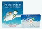 Raymond  Briggs,De Sneeuwman en de Sneeuwhond, 2 boeken,boek en vingerpopboek, Raymond Briggs