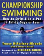 McFarlane-Mirande, Tracey Championship Swimming