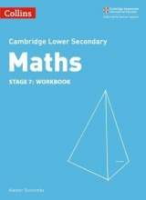 Alastair Duncombe Lower Secondary Maths Workbook: Stage 7
