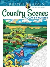 Toufexis, George Creative Haven Country Scenes Color by Number