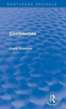 Kermode, Frank Continuities
