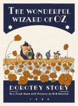The Wonderful Wizard of Oz Stitch Small Lined Notebook