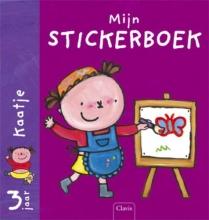 Liesbet  Slegers Mijn stickerboek set 2x5 exemplaren Karel & Kaatje