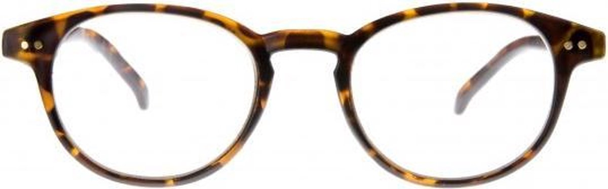 Tcd003,Leesbril icon matt demi, clear lens +2,00