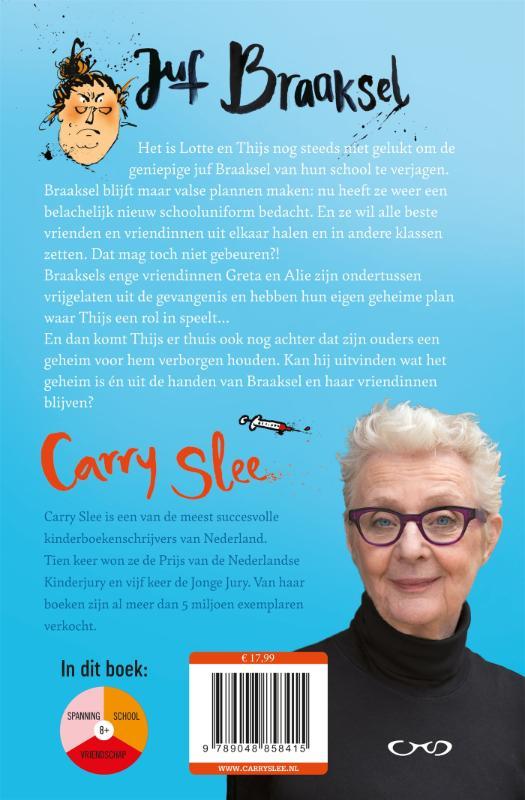 Carry Slee,Juf Braaksel en de geniale ontsnapping