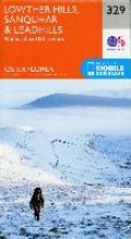 Ordnance Survey Lowther Hills, Sanquhar and Leadhills