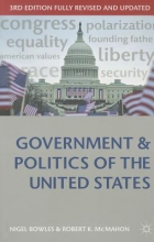 Nigel Bowles,   Robert K. McMahon Government and Politics of the United States