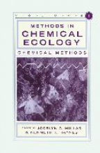 Haynes, Kenneth F. Methods in Chemical Ecology Volume 1