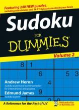 Heron, Andrew Sudoku For Dummies, Volume 2
