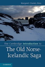 Clunies Ross, Margaret The Cambridge Introduction to the Old Norse-Icelandic Saga