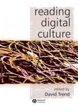 Trend, David Reading Digital Culture