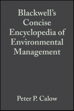 Calow, Peter P. Blackwell`s Concise Encyclopedia of Environmental Management