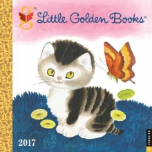 DreamWorks Little Golden Books 2017 Wall Calendar