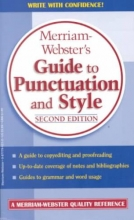 Merriam-Webster`s Guide to Punctuation and Style