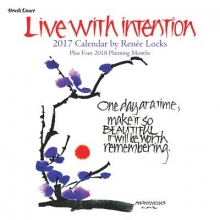 Live with Intention 2017 Mini Wall Calendar