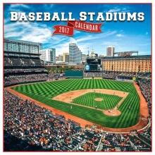 Baseball Stadiums 2017 Calendar