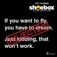 Shoebox 2017 Calendar