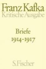 Kafka, Franz Briefe 1914 - 1917