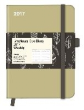 Cool Diary Wochenkalender Sand/Feather White 2017 16x22