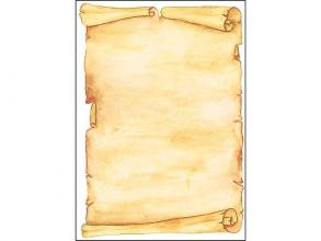 , designpapier Sigel A4 90grs pak a 50 vel Perkament