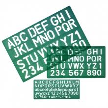 , Lettersjabloon LINEX 8500S set à 3 stuks