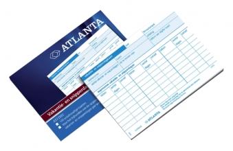 , Vakantie- en snipperdagenkaart Atlanta 100stuks