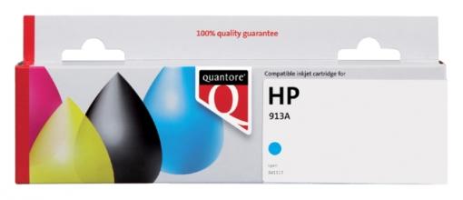 , Inktcartridge Quantore HP F6T77AE 913A blauw