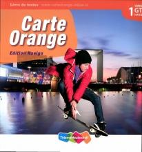 Marjo  Knop Carte Orange 1 VMBO GT/Havo Tekstboek
