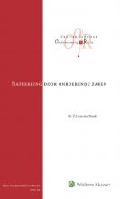 P.J. van der Plank , Natrekking door onroerende zaken