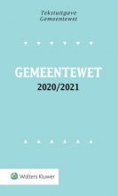 , Tekstuitgave Gemeentewet 2020/2021
