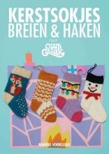 Marieke Voorsluijs , Kerstsokjes breien & haken met Club Geluk