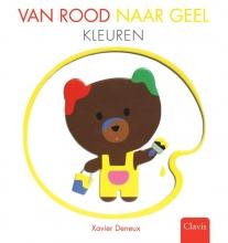 Xavier  Deneux Van rood naar geel. Kleuren