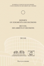 , Reports of judgments and decisions/recueil des arrêts et décisions 2013-III