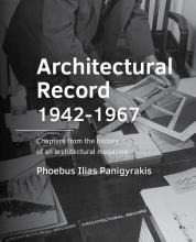 Phoebus Ilias Panigyrakis , Architectural Record 1942-1967