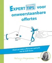 Natasja  Hoogenboom Experttips boekenserie Experttips voor onweerstaanbare offertes