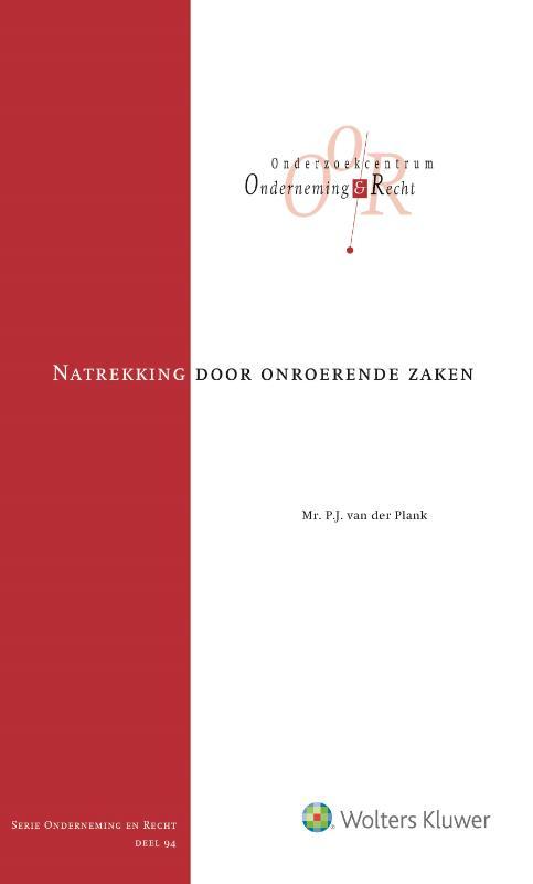 P.J. van der Plank,Natrekking door onroerende zaken