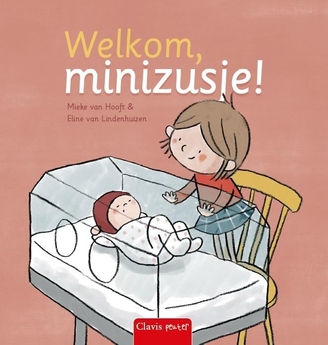 Mieke van Hooft,Welkom, minizusje!