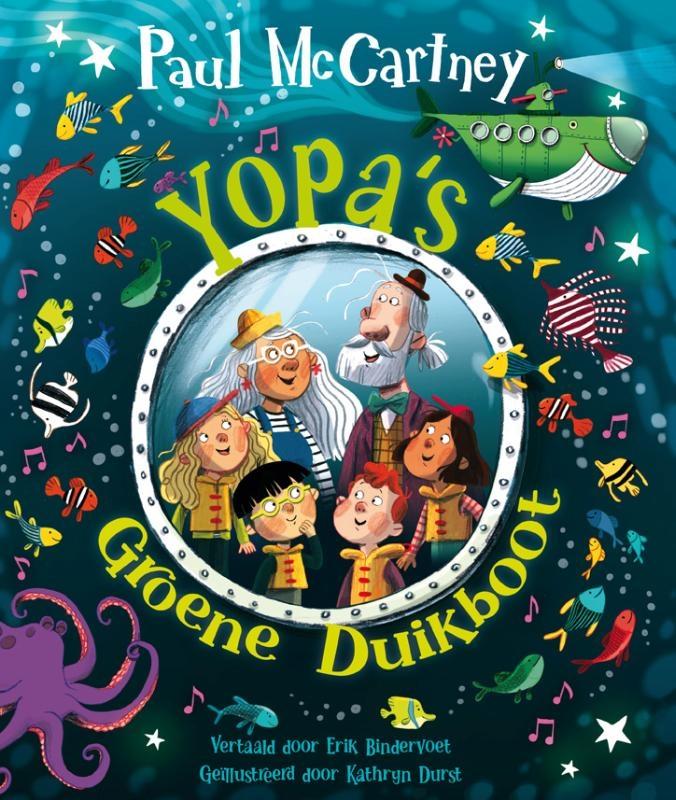 Paul McCartney,Yopa`s groene duikboot