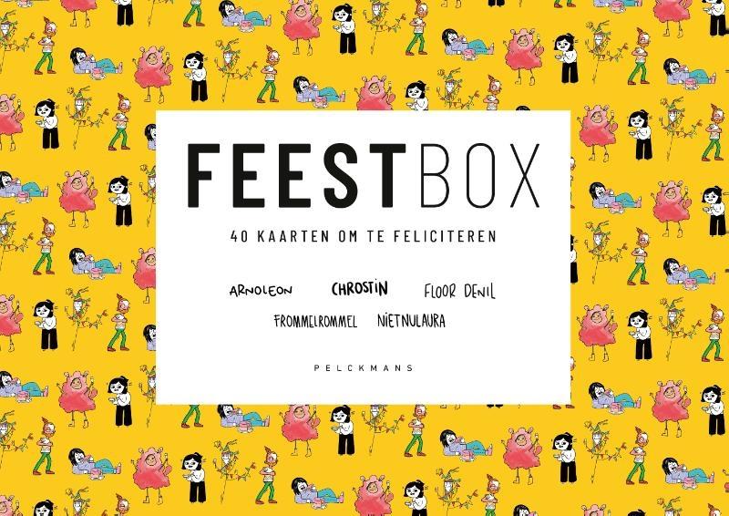 Chrostin, ARNOLEON, Laura Janssens, Frommelrommel, Floor Denil,FEESTbox