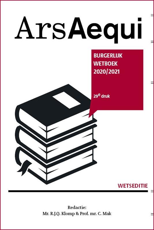 ,Burgerlijk wetboek 2020/2021
