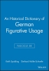Spalding, Keith,An Historical Dictionary of German Figurative Usage