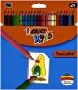 ,Kleurpotloden Bic Kids Tropicolors blister à 24 stuks