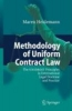 Heidemann, Maren,Methodology of Uniform Contract Law