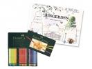 ,kleurpotlood Faber-Castell Polychromos etui à 60 stuks met  Bingerden kleurboek