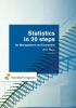 Arie  Buijs,Statistics in 20 steps