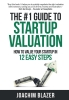 Joachim  Blazer,The #1 Guide to Startup Valuation