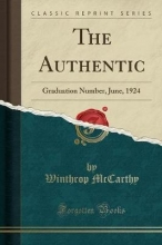 Mccarthy, Winthrop Mccarthy, W: Authentic